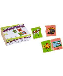 Eduedge Let's Find N Match Animals N Home - 15 Pairs Of Plaques