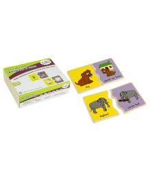 Eduedge Let's Find N Match Animals N Use - 15 Pairs Of Plaques