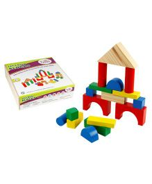 Eduedge Let's Build Blocks - 50 Wooden Blocks