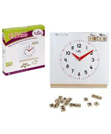Eduedge Let's Know About Clocks - 58 Magnetic Number Plates