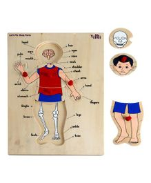 Eduedge Let's Fix Body Parts - 10 Knobbed Pictures