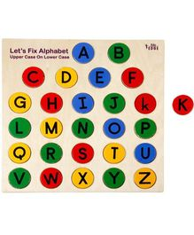 Eduedge Let's Fix Alphabets Upper Case On Lower Case