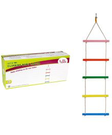 Eduedge Let's Try Climbing Rope Ladder