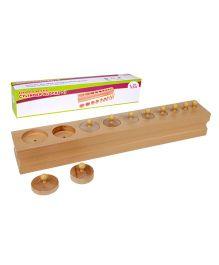 Eduedge Montessori Sensorial Cylinders Blocks 3
