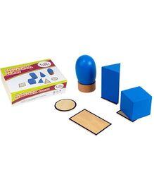 Eduedge Montessori Sensorial Geometrical Solid Shapes