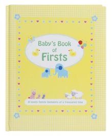 Alligator Books Babys Book of Firsts - English