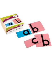 Eduedge Language Sand Paper Aplhabet Small Letter - 26 Boards