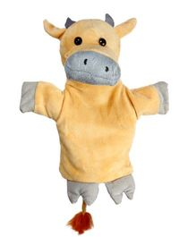 EDUEDGE Lets Do Drama Puppet Cow - Height 25.4 cm