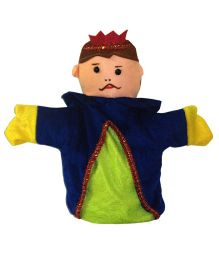 EDUEDGE Lets Do Drama Puppet King - Height 25.4 cm