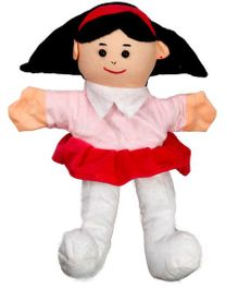 EDUEDGE Lets Do Drama Puppet Girl - Height 25.4 cm