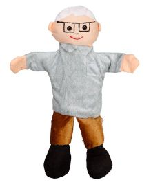 EDUEDGE Lets Do Drama Puppet Grandfather - Height 25.4 cm
