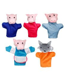 Eduedge Let's Do Drama Three Little Pigs - 5 Piece Set