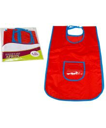 EDUEDGE Art Apron Cloth Medium - Red