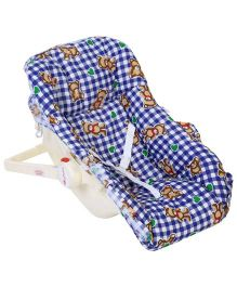 Infanto Baby Love Carry Rocker Deluxe Bear Print - Blue