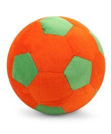 Babyhug Soft Ball Big - Orange And Green