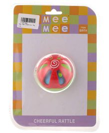 Mee Mee Cheerful Colorful Ball Rattle (Color May Vary)