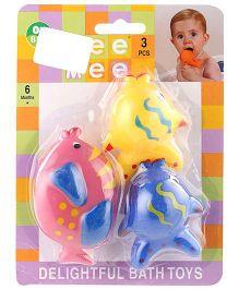 Mee Mee Fish Shaped Bath Toy Set