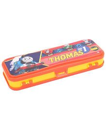 Thomas Double Decker Pencil Box- Orange