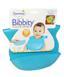 Summer Infant Bibbity Cup Molded Bib - Blue