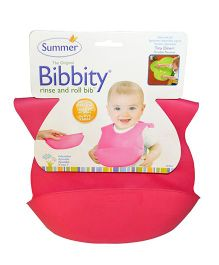 Summer Infant Bibbity Cup Molded Bib - Pink