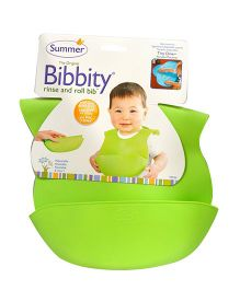 Summer Infant Bibbity Cup Molded Bib - Green
