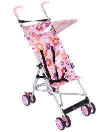 Cuddles and Strollers Lightweight Floral Print - Pink