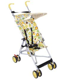 Cuddles and Strollers Lightweight Dotted Print - Green