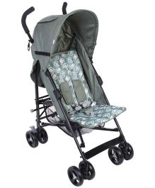 Cuddles and Strollers Lightweight Dotted Print - Silver Grey