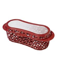 The First Years Deluxe Dishwasher Basket - Red