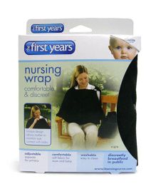The First Years Nursing Privacy Wrap - Black