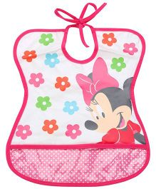The First Years Tie Bib Minnie Mouse Print