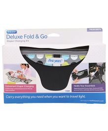 The First Years Deluxe Fold'n Go Diapering Kit - Grey