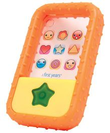 The First Years My Phone Teether - Orange