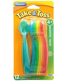 The First Years Take & Toss Infant Spoons 12 pieces