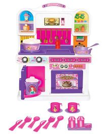 Disney Princess My Activity Kitchen Set - 16 Pieces