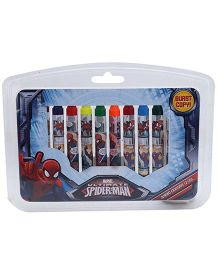 Marvel Spiderman Jumbo Crayons -12Colours
