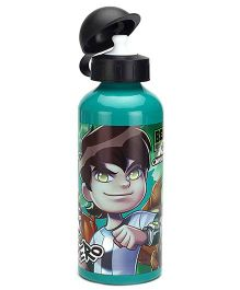 Ben 10 Aluminium Sipper Bottle Green - 500 ml