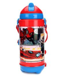 Spider Man Sipper Bottle Red And Blue - 420 ml
