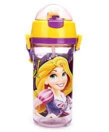 Disney Rapunzel Sipper Bottle Purple And Yellow - 600 ml