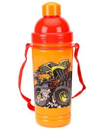 Hotwheels Eco Sipper Water Bottle Large Orange - 550 ml