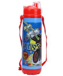 Hotwheels Double Walled Water Bottle Red & Blue - 350 ml