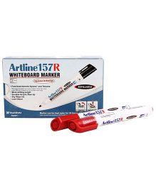 Artline Whiteboard Marker EK157R - Red