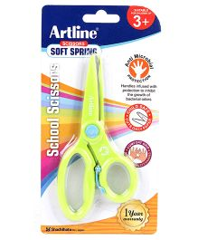 Artline School Scissors Soft Spring - Green