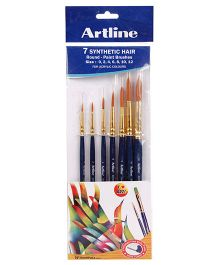 Artline Paint Brush Synthetic Round - Set of 7