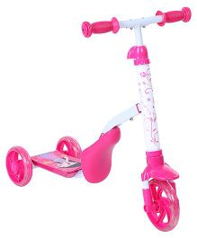 Chhota Bheem 2 in 1 Scooter - Pink
