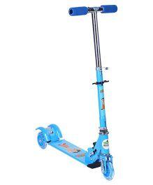 Chhota Bheem 3 Wheel Scooter - Blue