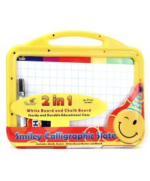 Funworld 2 In 1 Smiley Calligraphy Slate