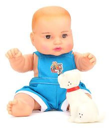Speedage Baby Doll With Pet - Blue