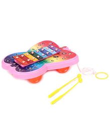 Ratnas Xylophone Butterfly Design - Multicolour