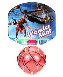 Ratnas Wonder Shot Basketball With Net Hoop